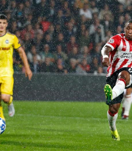 Soeverein PSV heeft geen kind aan BATE en plaatst zich voor Champions League