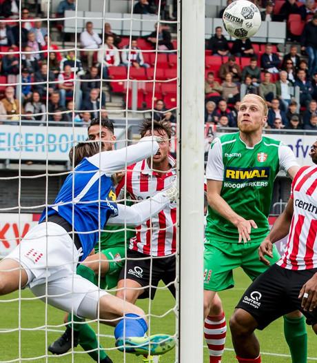 Mühren frommelt Sparta naar finale play-offs tegen FC Emmen