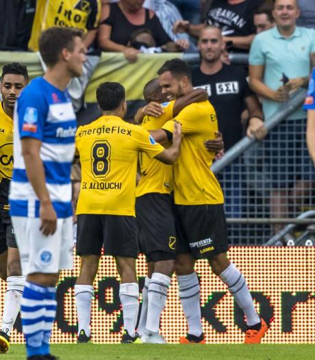De Graafschap na stunt tegen Feyenoord kansloos op 'avondje NAC'