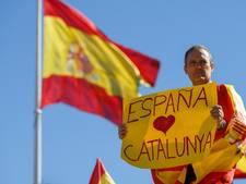 Premier Rajoy: 'Spanje zal niet verdeeld worden'