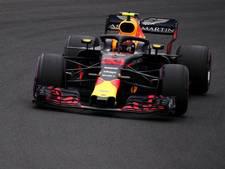 Hamilton pakt pole, Verstappen zevende in kletsnatte kwalificatie