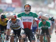 Viviani klopt Sagan met overmacht in massasprint