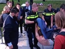 Tentenprotest Roeterseiland ontruimd door politie