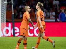 Wisseling van de wacht is een feit: Sneijder gaat, De Jong komt